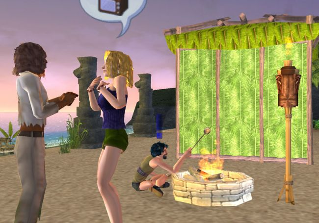 Sims 2: Gestrandet  Archiv - Screenshots - Bild 10