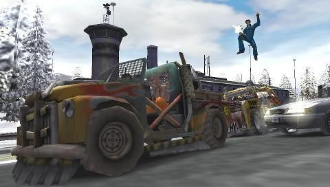 Pursuit Force: Extreme Justice (PSP)  Archiv - Screenshots - Bild 5
