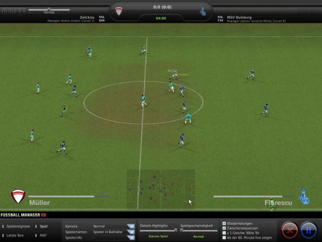 Fussball Manager 08  Archiv - Screenshots - Bild 12