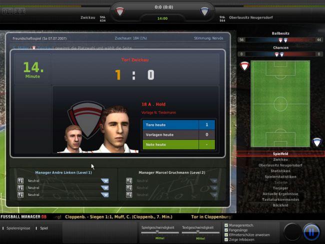 Fussball Manager 08  Archiv - Screenshots - Bild 9