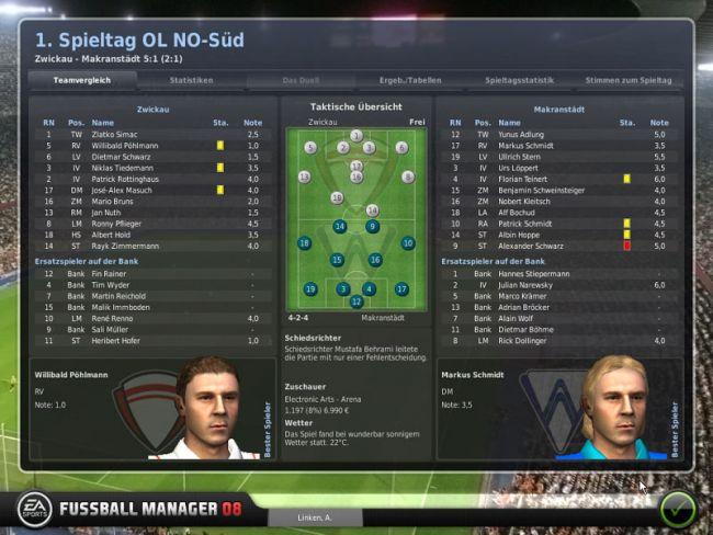 Fussball Manager 08  Archiv - Screenshots - Bild 14