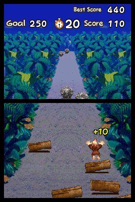 Donkey Kong: Jungle Climber (DS)  Archiv - Screenshots - Bild 2