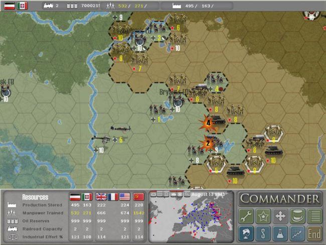 Commander: Europe at War  - Screenshots - Bild 2