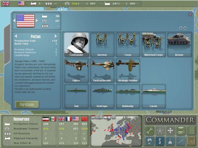 Commander: Europe at War  - Screenshots - Bild 6