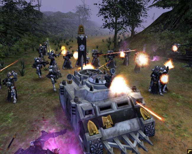 Warhammer 40000 Dawn of War - Soulstorm + Warhammer 40k Mod (2010) (RUS) (R