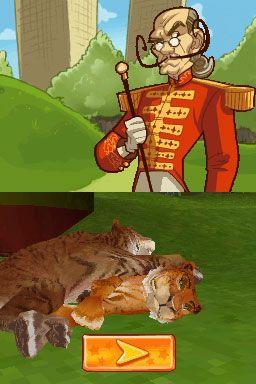 Tigerz: Abenteuer im Zirkus (DS)  Archiv - Screenshots - Bild 4