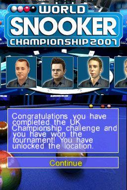 World Snooker Championship: Season 2007-08 - Screenshots - Bild 5