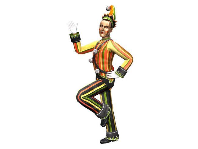 Die Sims 2 Karnevals-Skins - Artworks - Bild 3