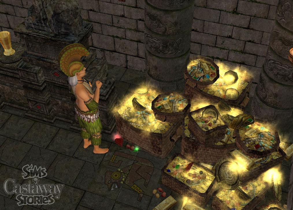 Скриншоты The Sims Истории робинзонов.