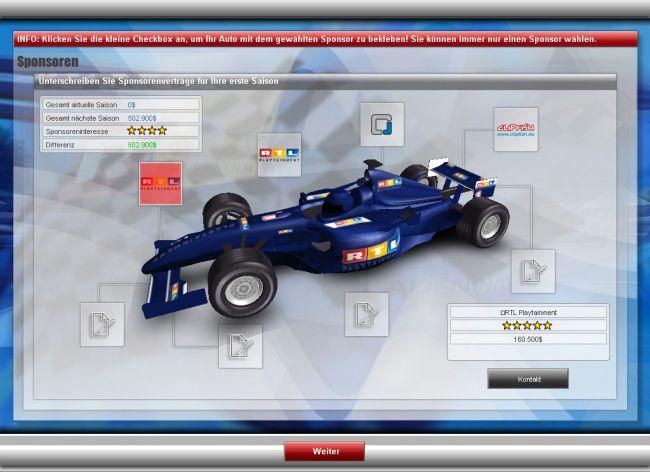 RTL Racing Team Manager - Screenshots - Bild 5