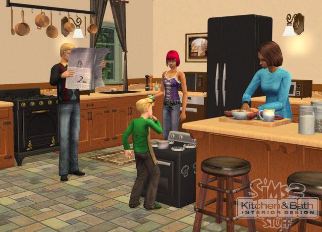 Die Sims 2: Küchen- und Bad-Einrichtungs-Accessoires - Screenshots - Bild 13