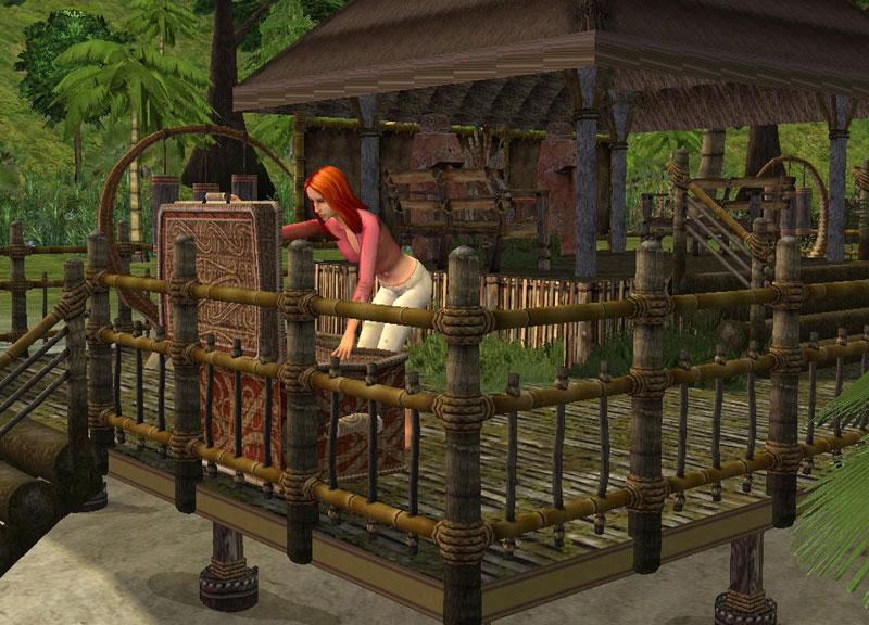 The Sims 2 Истории робинзонов.