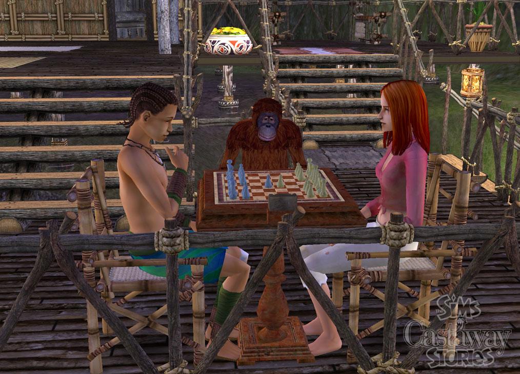 Вся информация об игре Sims : Истории робинзонов, The ( Sims : Castaway Sto