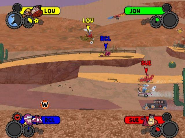 Wacky Races: Crash & Dash - Screenshots - Bild 3