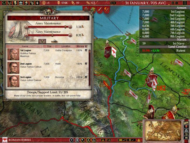 Europa Universalis: Rome - Screenshots - Bild 9
