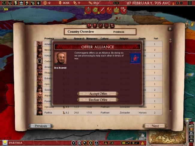 Europa Universalis: Rome - Screenshots - Bild 12