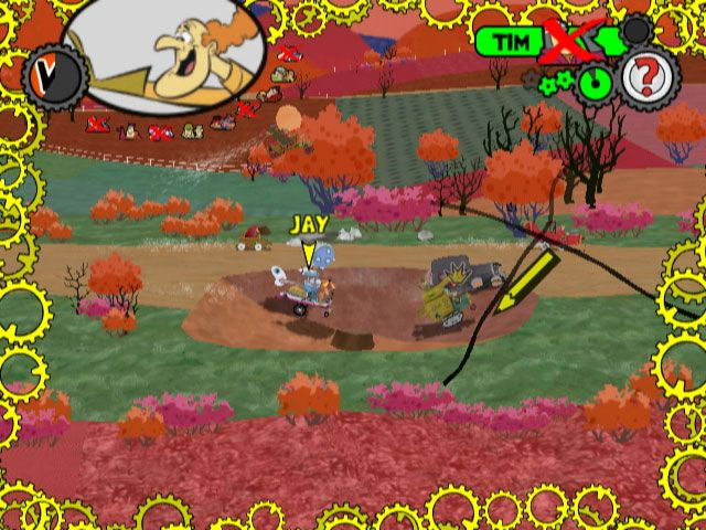 Wacky Races: Crash & Dash - Screenshots - Bild 4