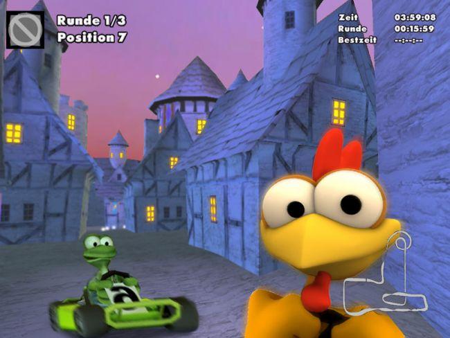 Moorhuhn Fun Kart 2008 - Screenshots - Bild 7