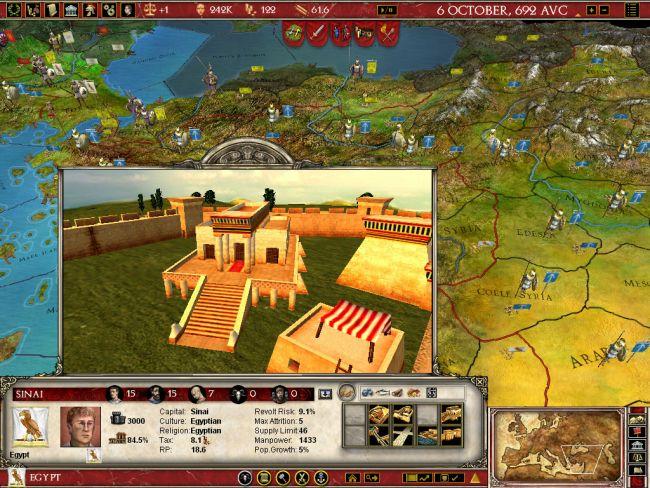 Europa Universalis: Rome - Screenshots - Bild 6