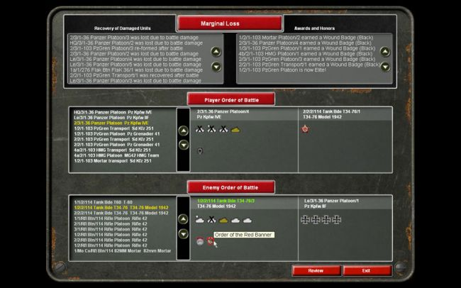 Panzer Command: Kharkov - Screenshots - Bild 13