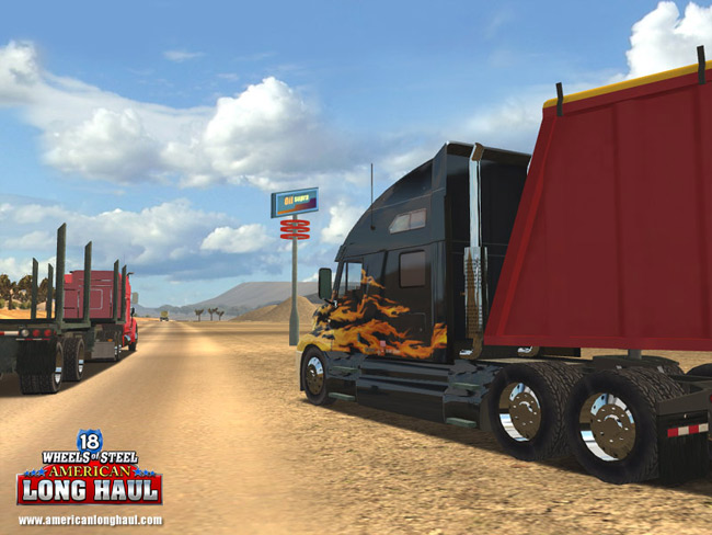 18 wheels of steel american long haul walkthrough