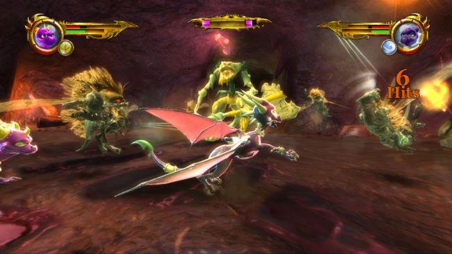 The Legend of Spyro: Dawn of the Dragon - Screenshots - Bild 10