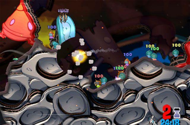 Worms: Odyssee im Wurmraum - Screenshots - Bild 9