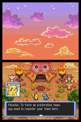 Pokémon Mystery Dungeon: Explorers of Time - Screenshots - Bild 7