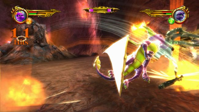 The Legend of Spyro: Dawn of the Dragon - Screenshots - Bild 15
