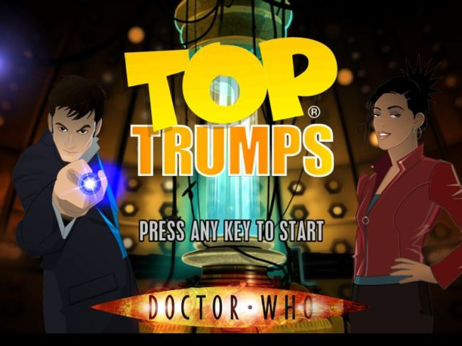 Top Trumps: Doctor Who - Screenshots - Bild 2