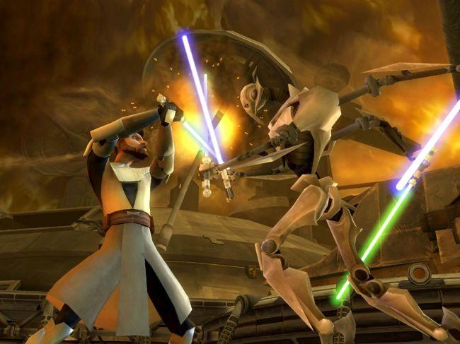 Star Wars: The Clone Wars: Lichtschwert-Duelle - Screenshots - Bild 9