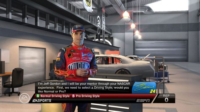 NASCAR 09 - Screenshots - Bild 3