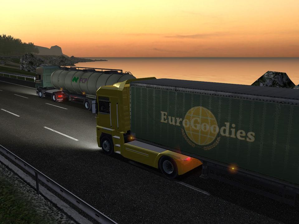 euro truck simulator eine lkw ladung neuer screenshots. Black Bedroom Furniture Sets. Home Design Ideas
