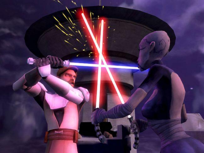 Star Wars: The Clone Wars: Lichtschwert-Duelle - Screenshots - Bild 8