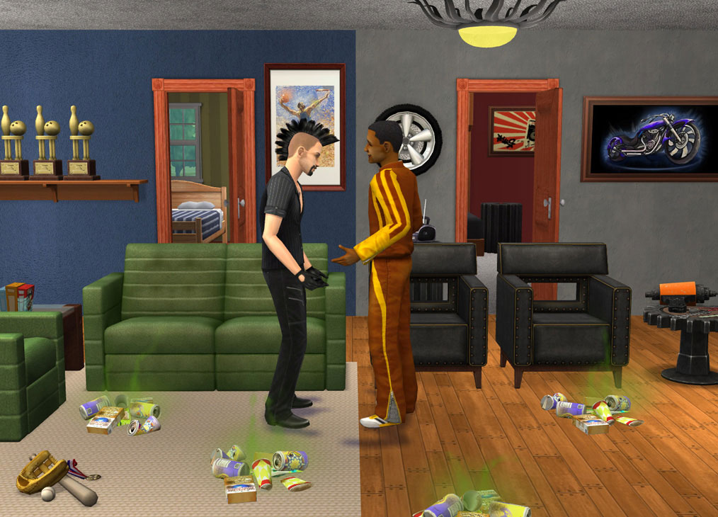 Sims 2 Living Room