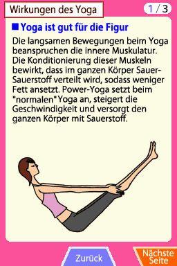 Mein persönlicher Yoga-Trainer - Screenshots - Bild 2