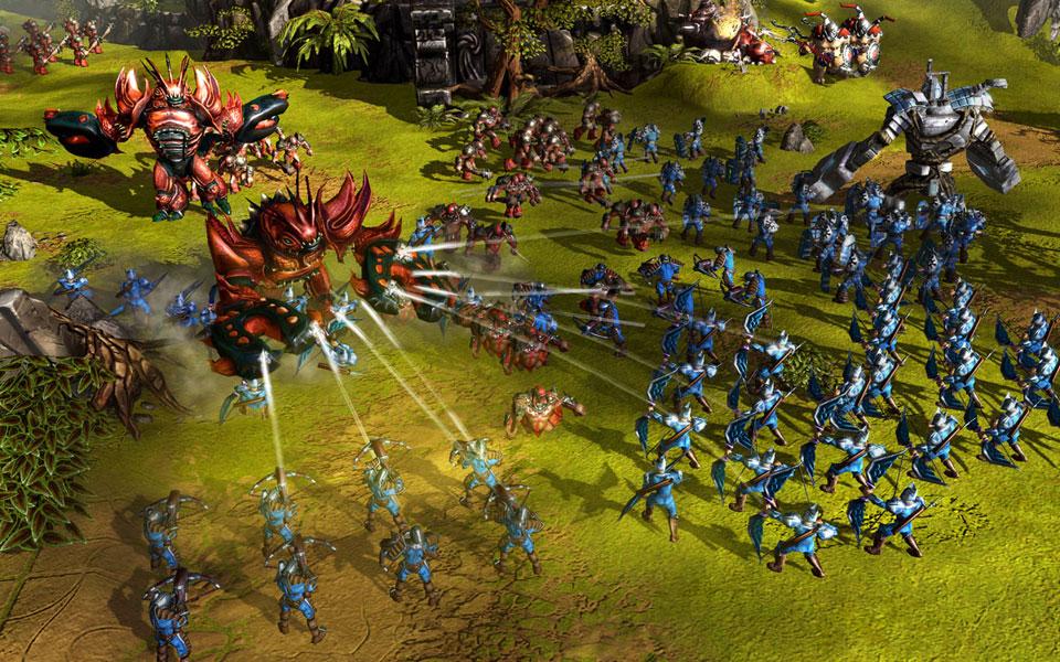 BattleForge: Echtzeit-Strategiespiel wird eingestellt - News von ...