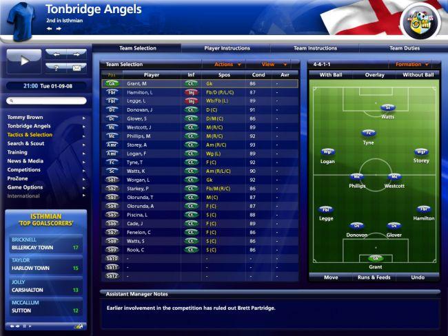 Championship Manager 2009 - Screenshots - Bild 8
