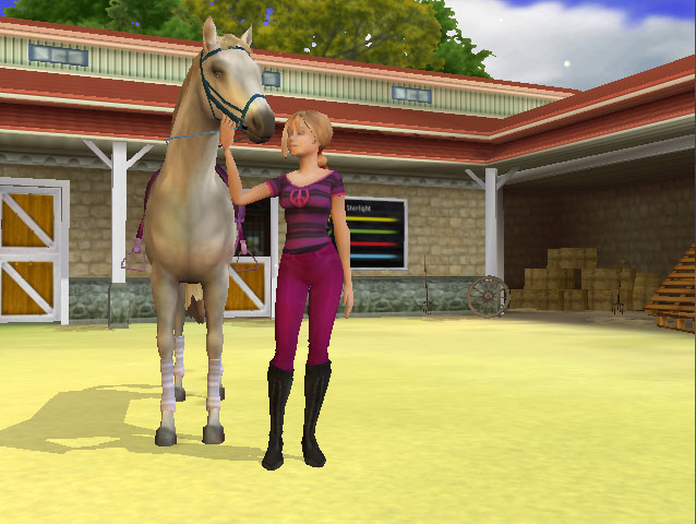 the creative writing my horse Look at my horse my horse is a amazing give it a lick it tastes just like rasins haha i do not own any content of this video.