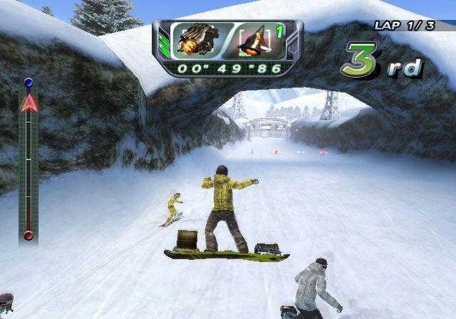 Snowboard Riot - Screenshots - Bild 2