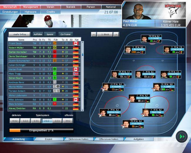 Eishockeymanager 2009 - Screenshots - Bild 5