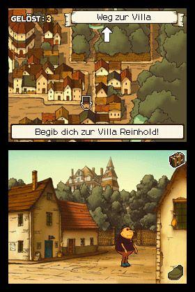 Professor Layton und das geheimnisvolle Dorf - Screenshots - Bild 49
