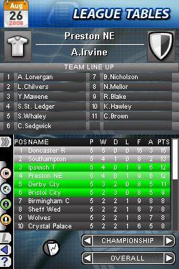 Football Director DS - Screenshots - Bild 3