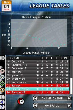 Football Director DS - Screenshots - Bild 7