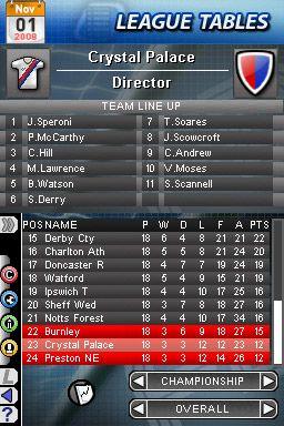 Football Director DS - Screenshots - Bild 6