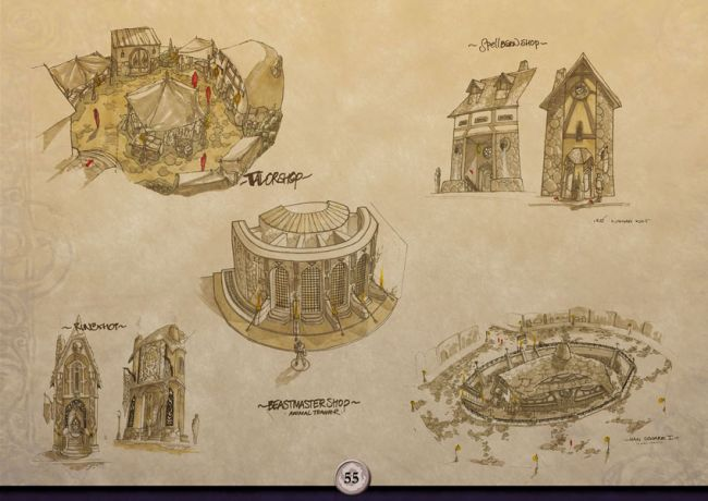 The Chronicles of Spellborn - Artbook - Artworks - Bild 8