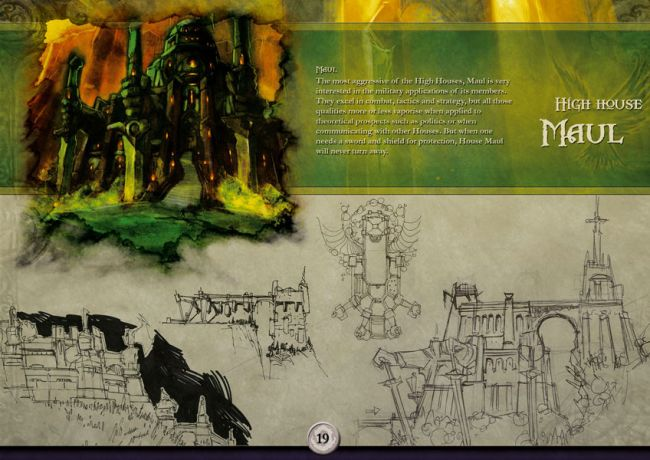 The Chronicles of Spellborn - Artbook - Artworks - Bild 10