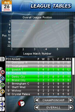Football Director DS - Screenshots - Bild 2
