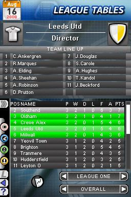 Football Director DS - Screenshots - Bild 8
