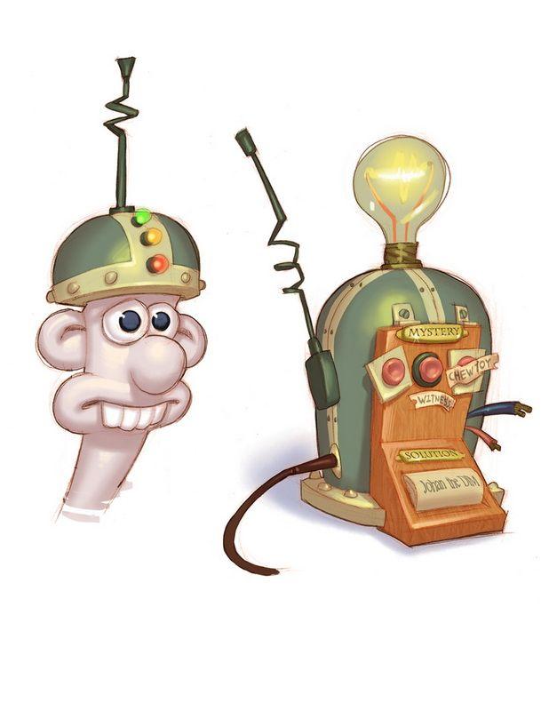 Wallace & Gromit's Grand Adventures - Artworks - Bild 6